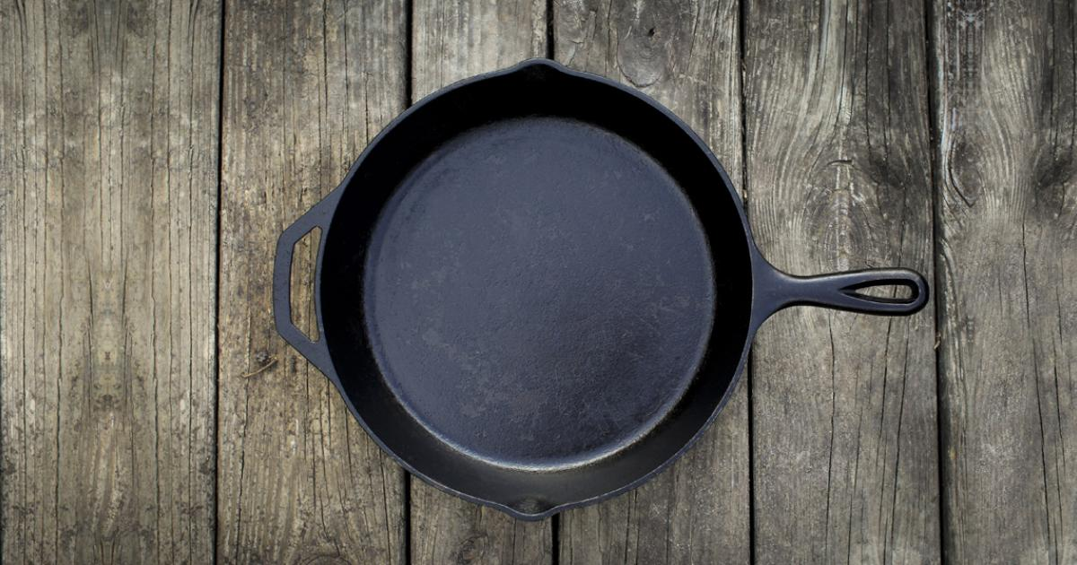 Cast Iron Myths Lodge, Enameled Cast Iron Cookware On Glass Top Stove