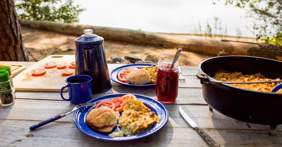 Mountain Man Breakfast Lodge Cast Iron